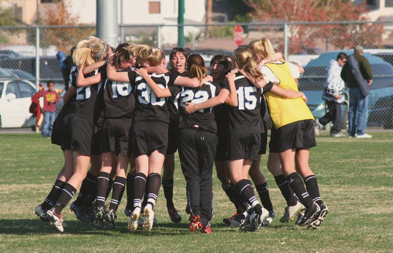 girls' huddle - c moulder
