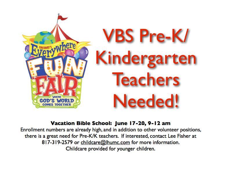 VBS recruitment ~ 2013