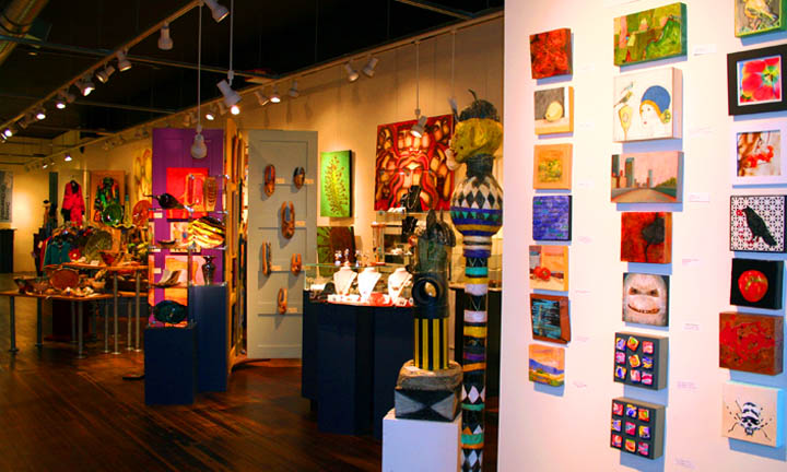 Small Works of art at 2010 Holiday Show