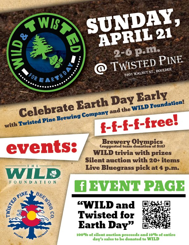 WILD & Twisted Earth Day, Energy Frontiers, FLOAT