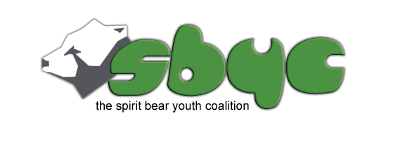 Spirit Bear Youth Coalition Logo