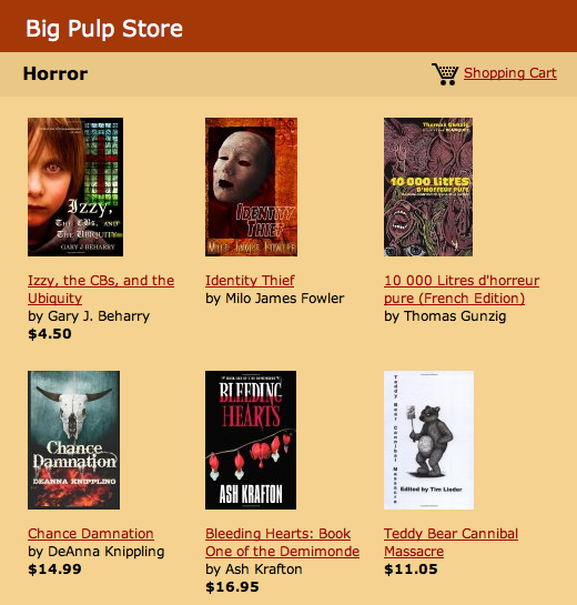 big pulp e-store