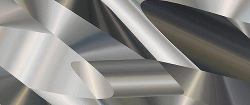 Aluminum and Steele, 1971 (detail)