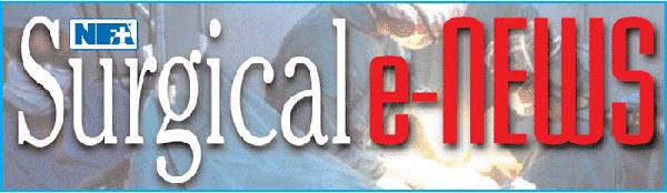 Surgical e-News banner