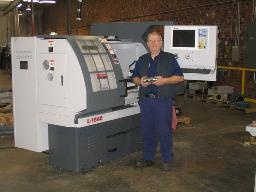 New CNC Lathe