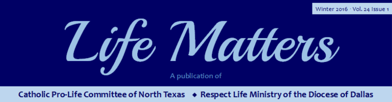 Life Matters Winter Newsletter 2016