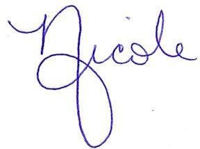 nicole signature