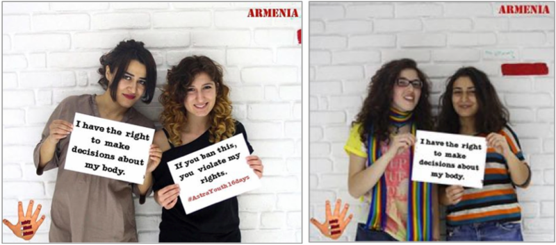 Campaigning in Armenia