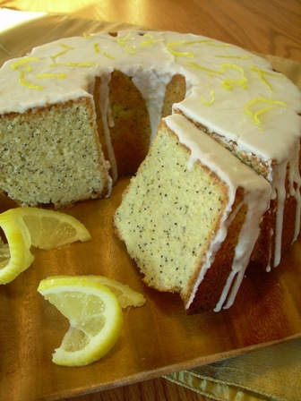 Lemon Poppyseed Pound Cake-Lisa Sheldon