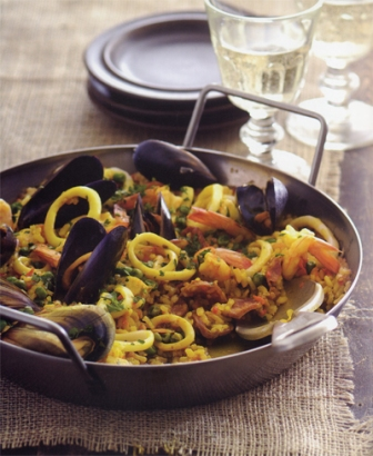 Seafood Paella - Jane Lawson