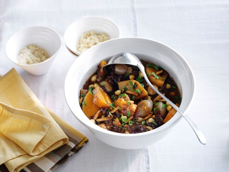 Moroccan Squash Tagine - New Vegetarian