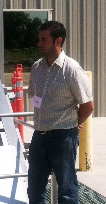 Mike Perez, milling manager
