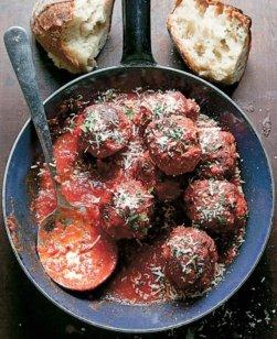 Italian-Style Meatballs Saveur