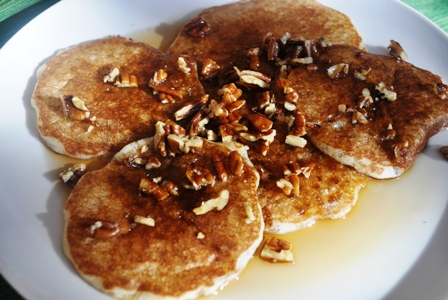 Toasty Pecan Topping for Pancakes