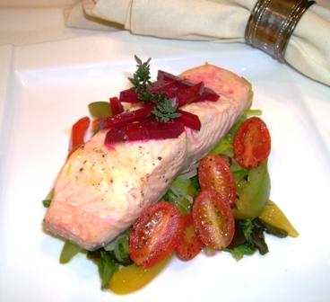 Steamed Salmon Polito