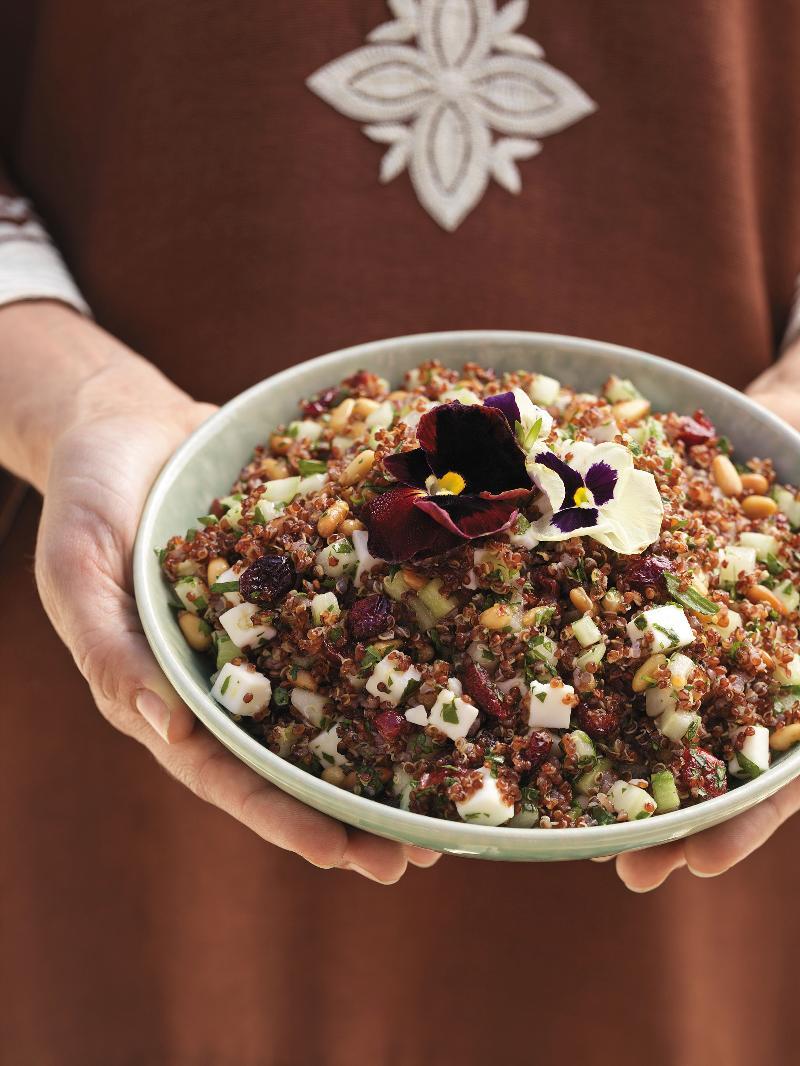Red Quinoa Salad