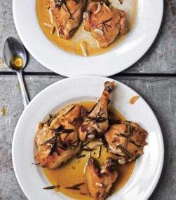 Lemony Roast Chicken