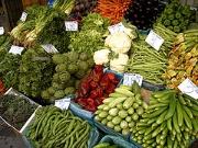 Veggie market in Heraklion