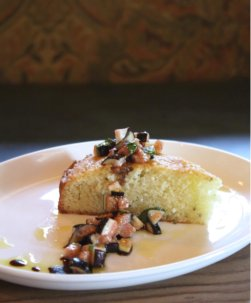 Rosemary Olive Oil Cake with Figs Full