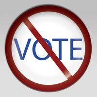 No Vote button