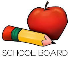 school board apple and pencil