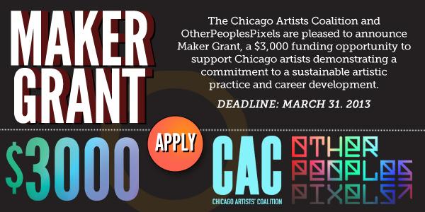 3000 Maker Grant Announced