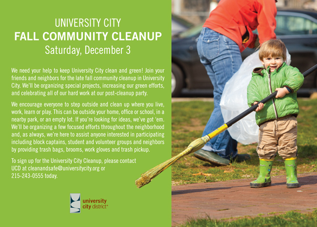 University City Community Cleanup