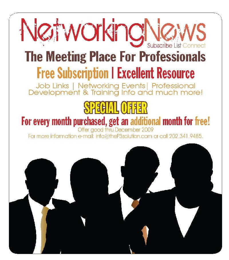 Networking News: The Meeting Place For Professionals
