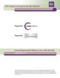 2013 SAVI Coding & Coverage Guide