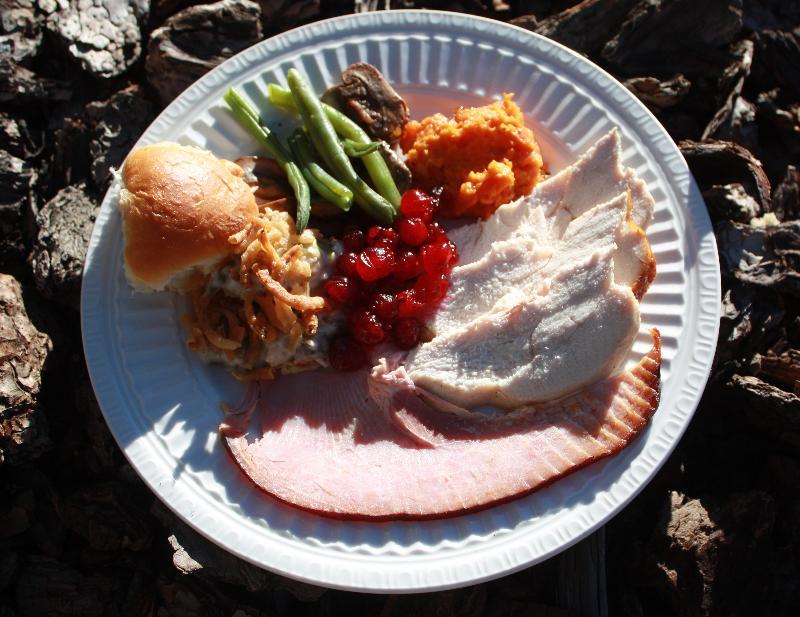 Turkey Ham Plate