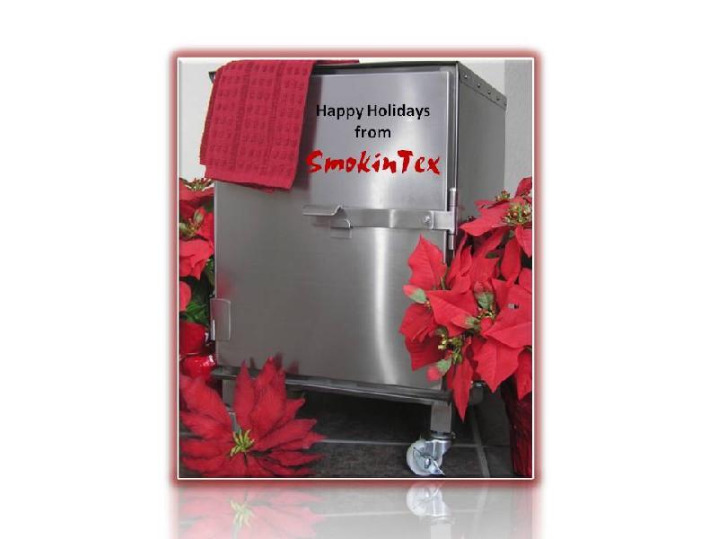 Happy Holidays from SmokinTex