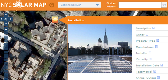 Preview NYC solar map