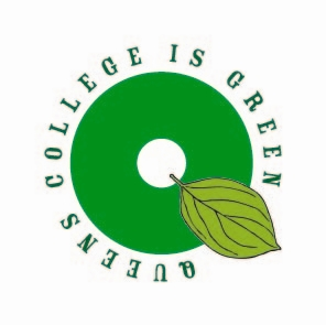 Queens is green logo