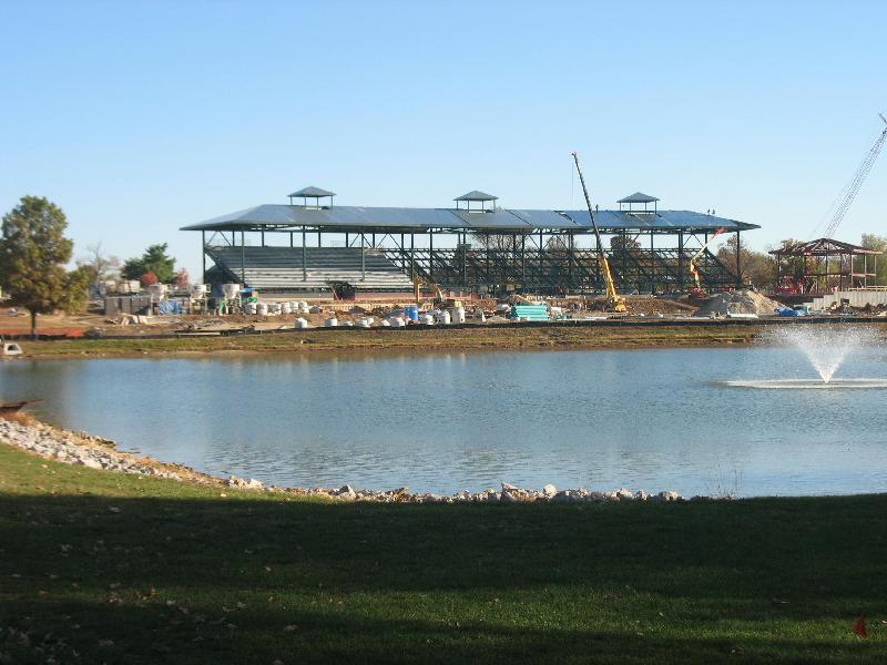 horse park construction