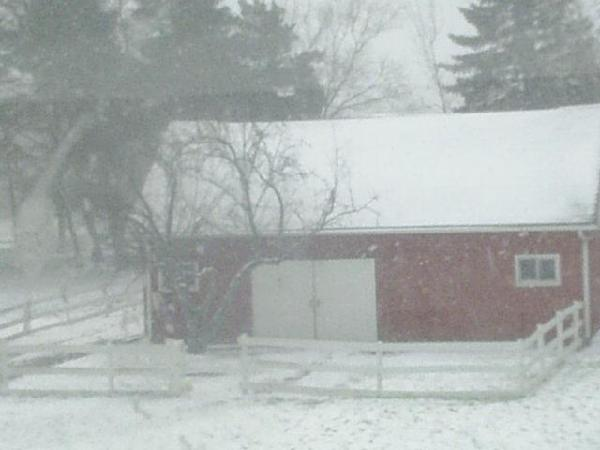 april snow barn