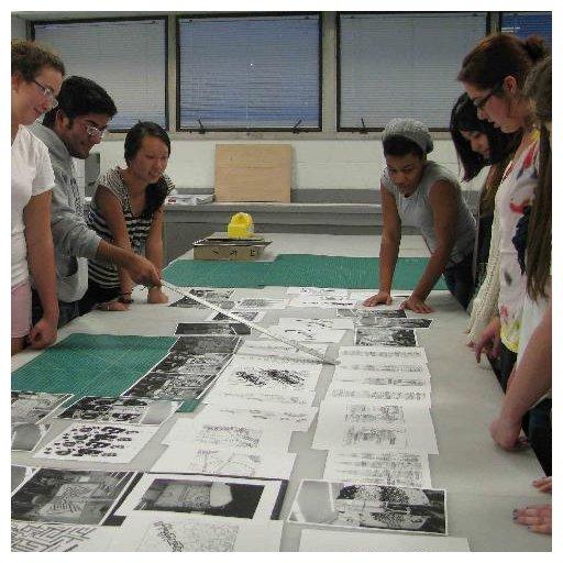 Typography Students