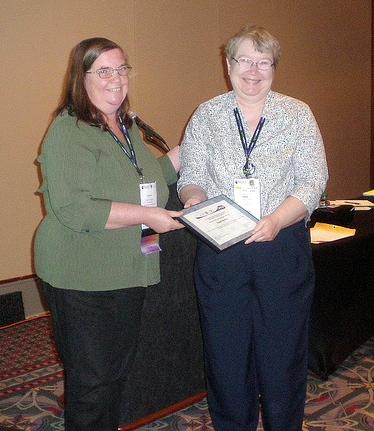 Dominy receives SLA PAM Award