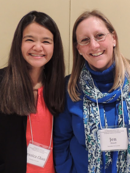 Jessica Chan and Jen Bissell