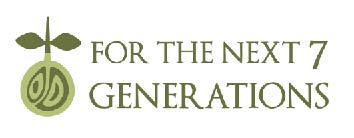 for the next 7 generations logo