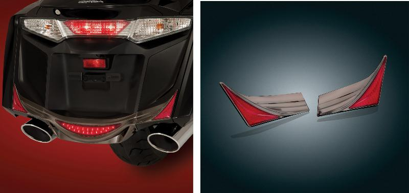 Saddlebag Rear Trim Accent