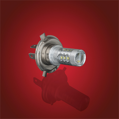 80 Watt LED H4 Bulb - # 10-105