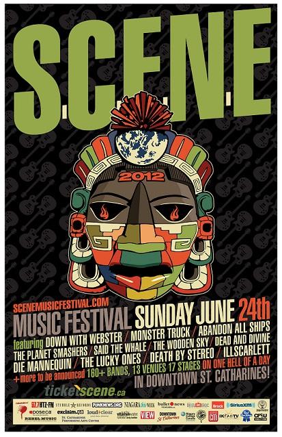 S.C.E.N.E Fest poster