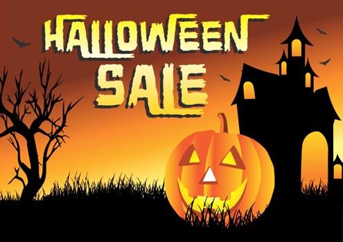 happy halloween - Halloween Sale