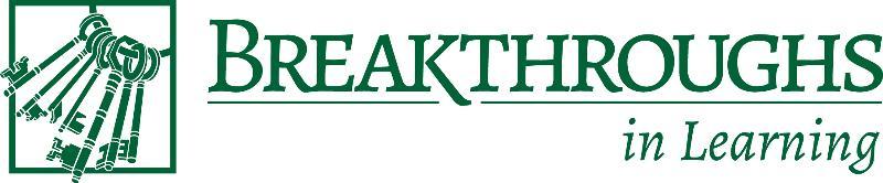 Breakthroughs in Learning Logo