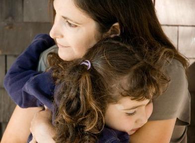Mom & Daughter hug