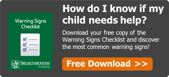 Click To Download the Warning Signs Checklist!