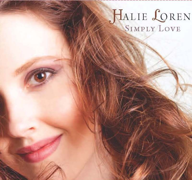 Halie Loren - Simply Love Artwork