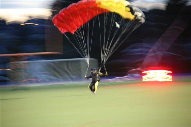 parachute homecoming