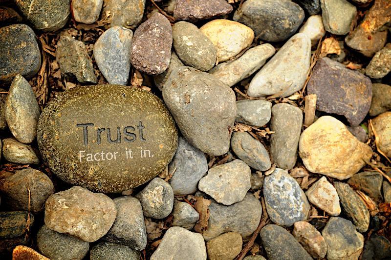 Trust - stones