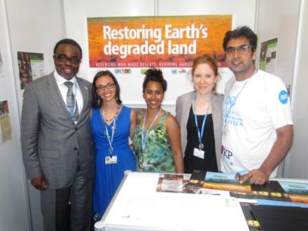IofC Booth at Durban Conference